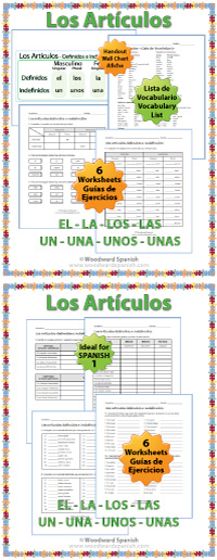 Definidos e indefinidos definite and indefinite articles in spanish