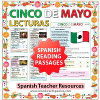 Spanish Reading Passages about el Cinco de Mayo - Lecturas