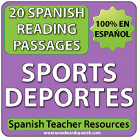 Los Deportes - Spanish Reading Passages about Sports