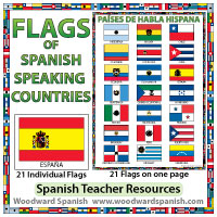 Flags of Spanish-speaking countries