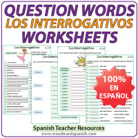 Interrogativos en Español - Question words in Spanish - Grammar by ...
