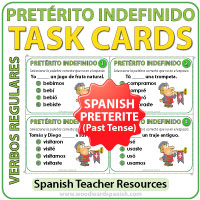 Preterito Indefinido Verbos Regulares Irregulares - Past tense in Spanish  Regular and Irregular Verb conjugations