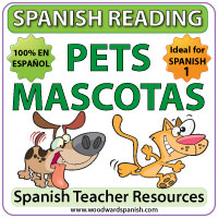 Spanish Reading Passages about Pets