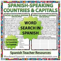 Países De Habla Hispana Y Sus Capitales